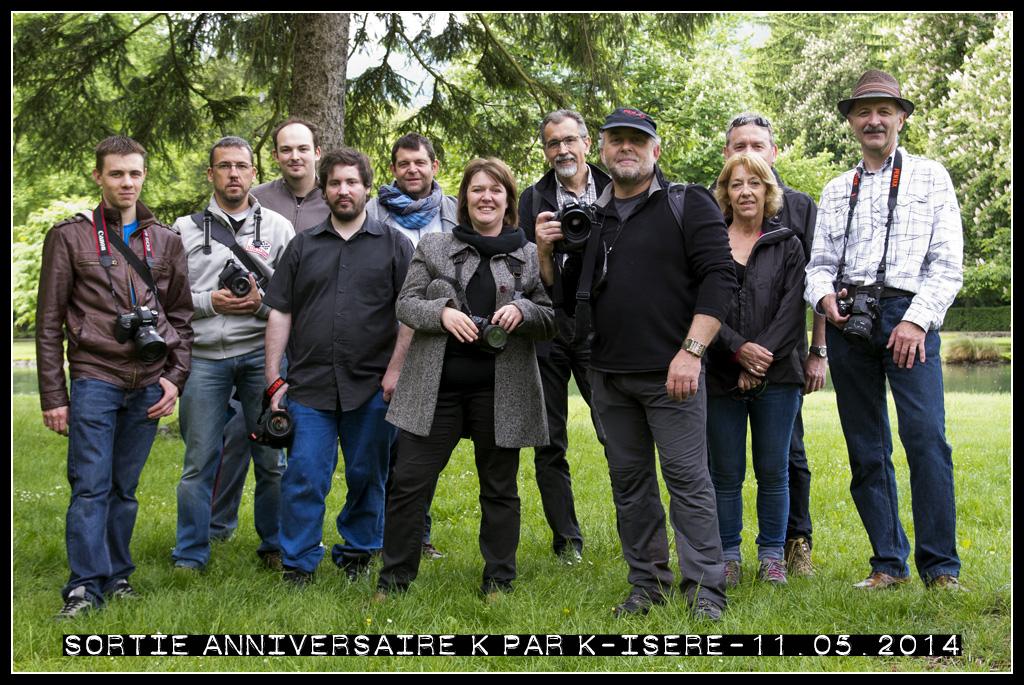 Sortie anniversaire Isère 2014 Groupe-isere-2014